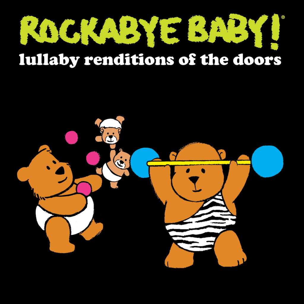 rockabye baby lullaby renditions doors