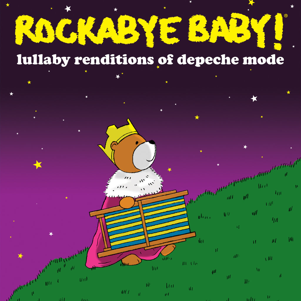 rockabye baby lullaby renditions depeche mode vinyl lp