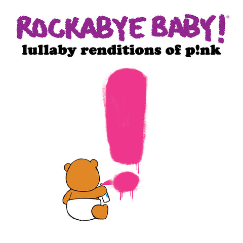 rockabye baby lullaby renditions pink p!nk
