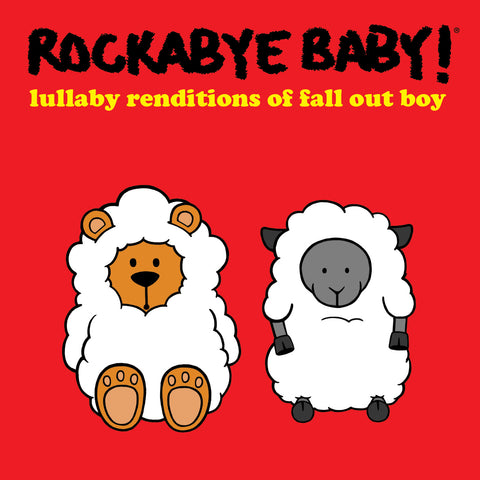 rockabye baby lullaby renditions fall out boy