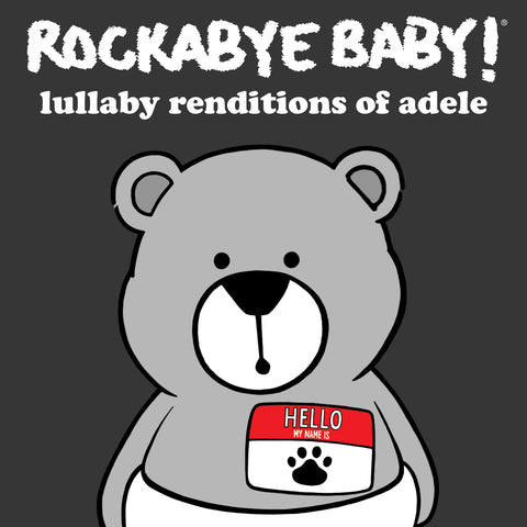 rockabye baby lullaby renditions adele