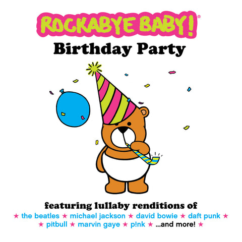 rockabye baby birthday party compilation