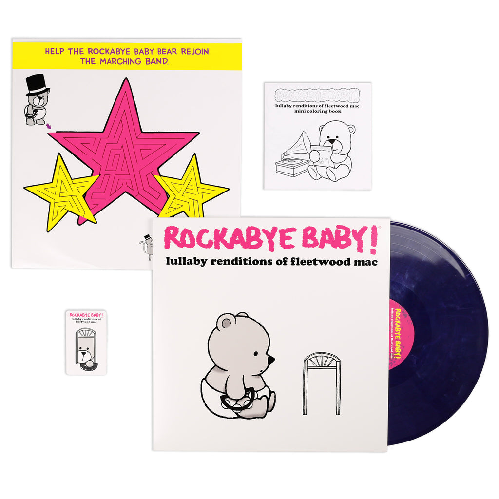 rockabye baby lullaby renditions fleetwood mac vinyl lp