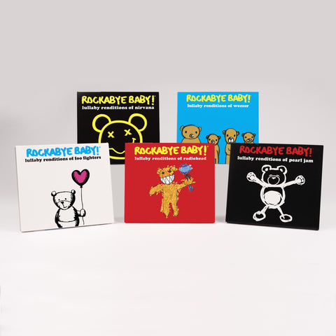 rockabye baby alternative parenting cd bundle