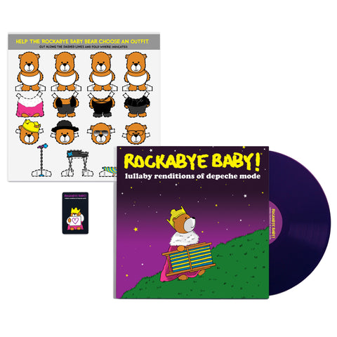 Lullaby Renditions of Depeche Mode - Vinyl