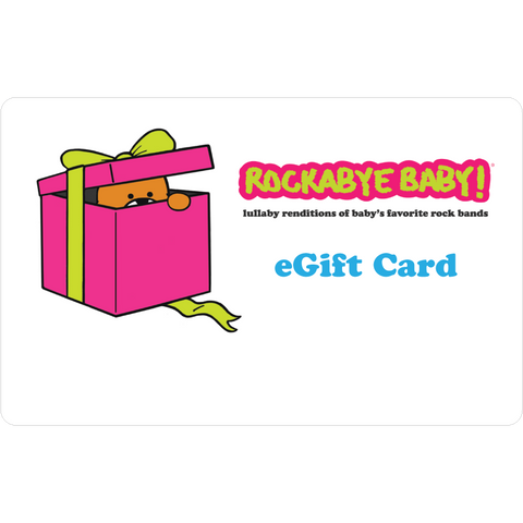 rockabye baby digital egift gift card