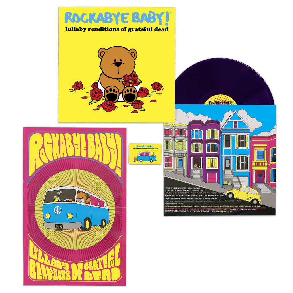 rockabye baby lullaby renditions grateful dead vinyl lp