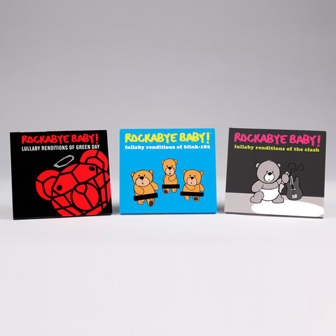 rockabye baby punk in pear tree holiday cd bundle