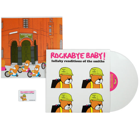 rockabye baby lullaby renditions smiths vinyl lp
