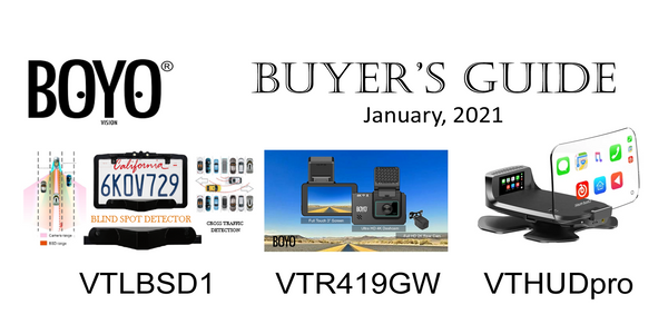 BOYO Buyer's Guide - January, 2021