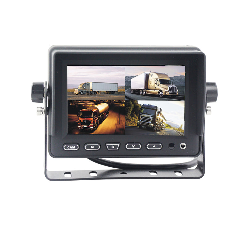 "BOYO VTM5000Q4 - 5"" TFT-LCD Backup Camera Monitor with 4-Channel Split-Screen"