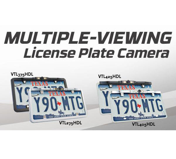 VTL425HDL : License Plate Cameras -Black Bar Type