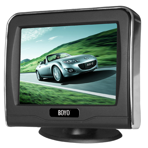 "BOYO VTM3601 - 3.5"" TFT-LCD Backup Camera Monitor"