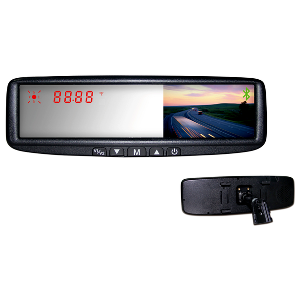 BOYO VTB45M - Replacement Rear-View Mirror with 4.3