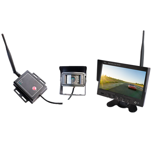 "BOYO VTC700X1 - Digital Wireless Camera System with 7"" Monitor for Large Trucks, Boat Trailers and Van"