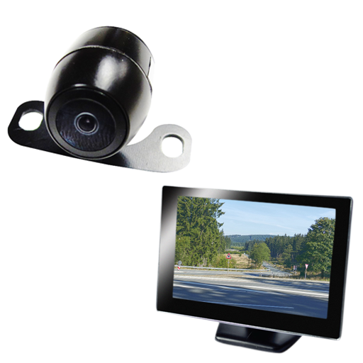 "BOYO VTC164M - Vehicle Backup Camera System with 4.3"" Monitor and Backup Camera for Car, Truck, SUV and Van"