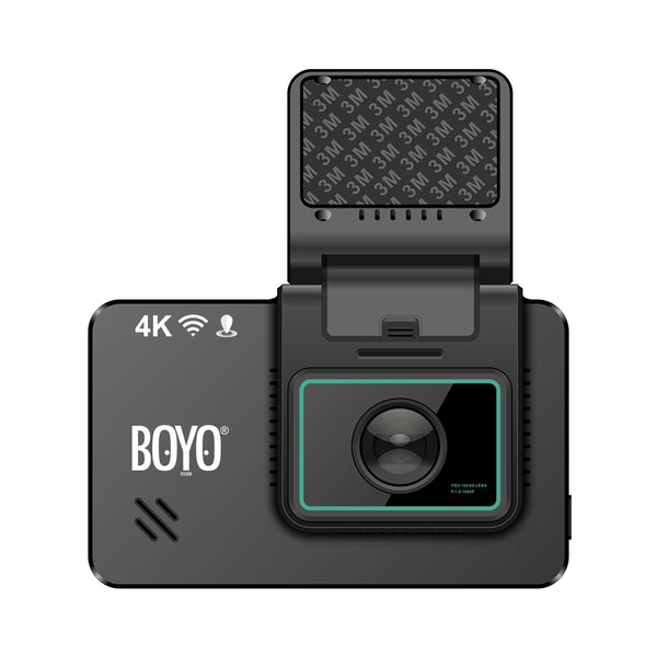 BOYO VTR419GW 4K Ultra HD / 2K Full HD - Dual Camera Dashcam