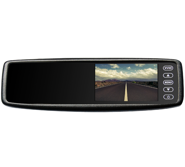 VTB43M : Rear View Mirror Monitor with Bluetooth