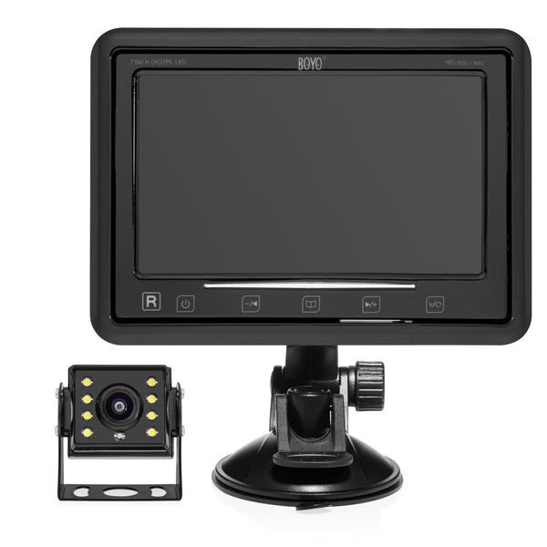 BOYO VTC207AHD - Vehicle Backup Camera System with Heavy Duty 7