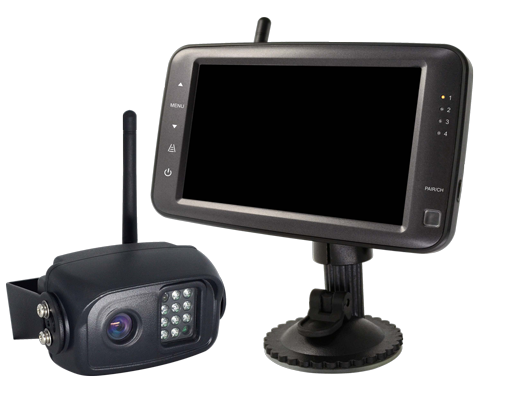 "BOYO VTC500R - Digital Wireless Single Camera System with 5"" Monitor for Car, Truck, SUV and Van (4-Channel System)"