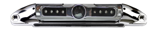 BOYO VTL400IRTJ - Bar-Type License Plate Backup Camera with Night Vision and Active Parking Lines (Chrome)