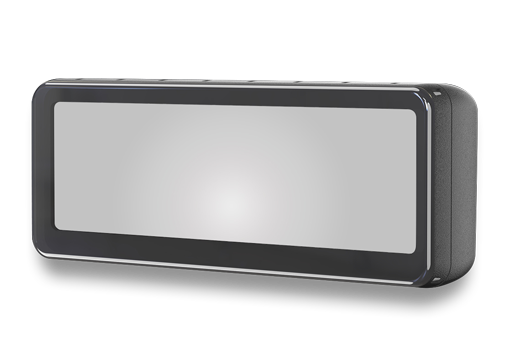 VTM73FL : 7.3 inch Frameless OE Style Rear View Mirror Monitor