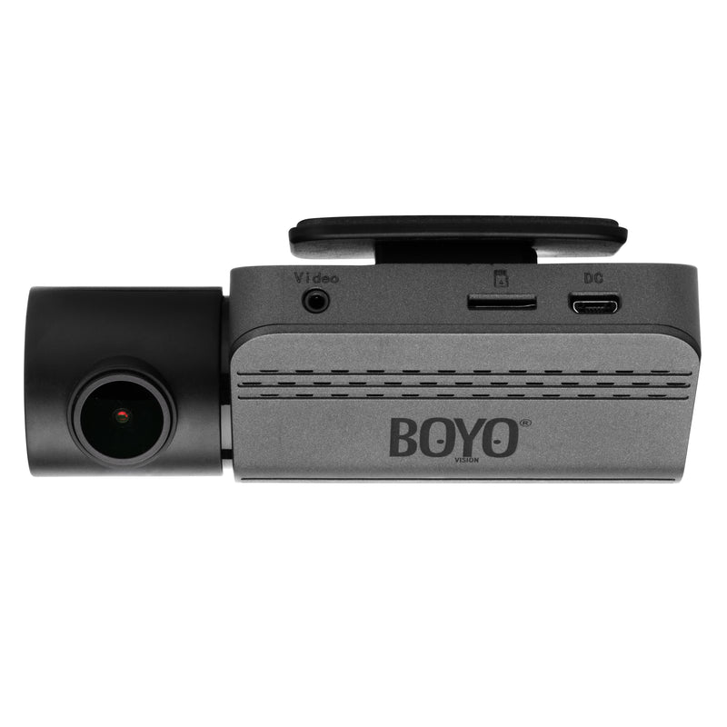 VTR219GW :  Full Hd 2 Channel Dash Camera Recorder with Wi-Fi Connectivity to Smartphone via APP