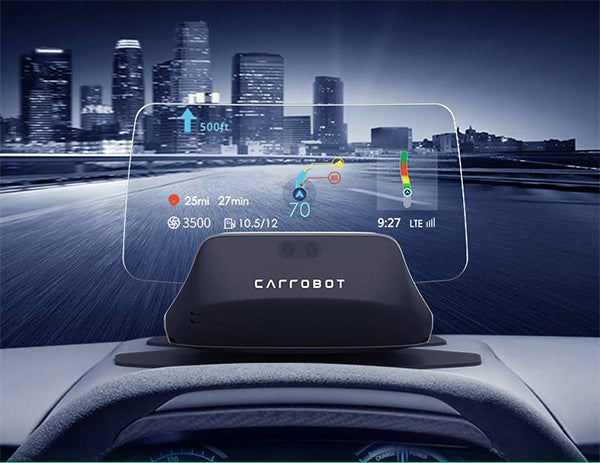 BOYO CARROBOT C2-LITE - Head Up Display, Projects your Smartphone Screen onto the HUD for Car, Truck or Van