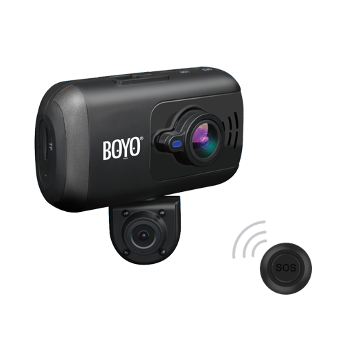 BOYO VTR217GW - Full HD 2-Channel Dash Cam Recorder