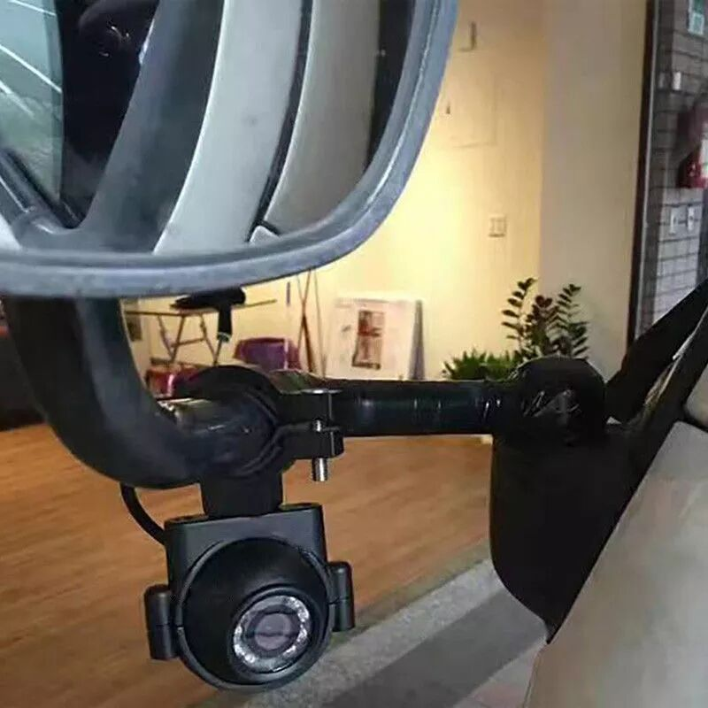 BOYO VTB1000 - Heavy-Duty Side-View Mirror Arm Mount Camera with Night Vision