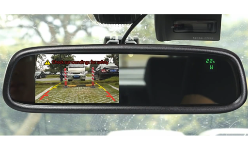 BOYO VTM43TC - Replacement Rear-View Mirror with 4.3