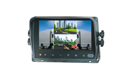 "VTM7003QMA : 7"" Quad Monitor with Touch Screen and waterproof"