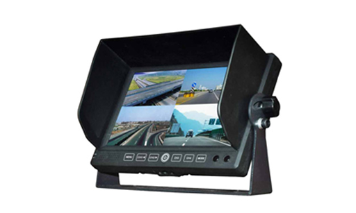 "BOYO VTM7012MQ - 7"" Digital TFT-LCD Quad Split-Screen 4CH Monitor with Built-in Speaker"