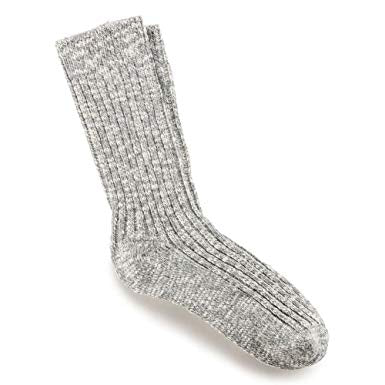 BIRKENSTOCK - COTTON SLUB SOCKS - LIGHT GREY
