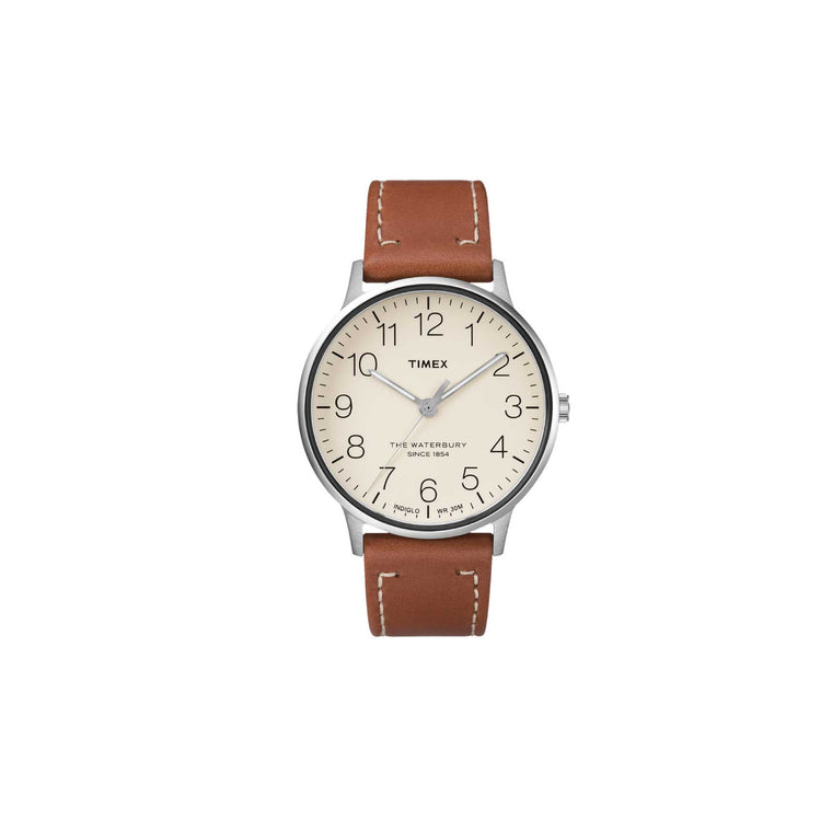 TIMEX WATERBURY HERITAGE  - BROWN