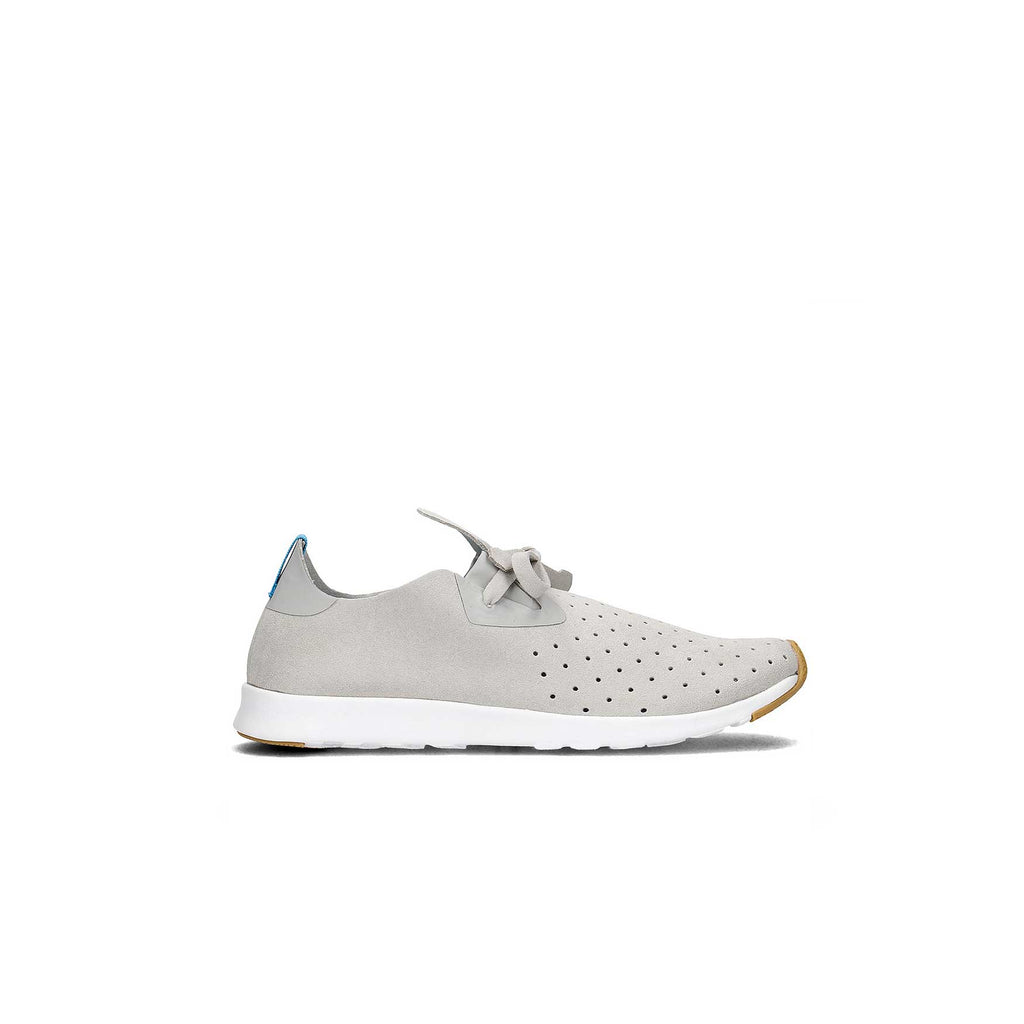 NATIVE APOLLO MOC - PIGEON GREY/ SHELL WHITE