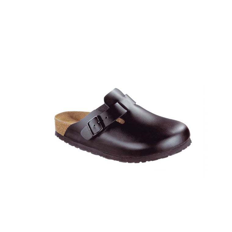 BOSTON SOFT FOOTBED LEATHER - BLACK