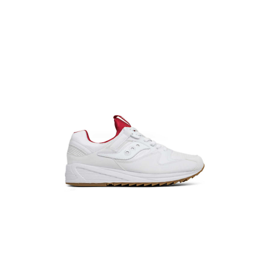 GRID 8500 - WHITE/ RED