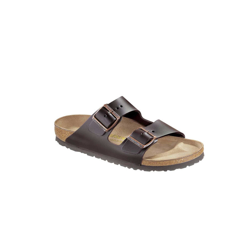 BIRKENSTOCK - ARIZONA LEATHER  - DARK BROWN