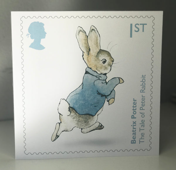 Peter Rabbit 8 x 8 Greeting Card