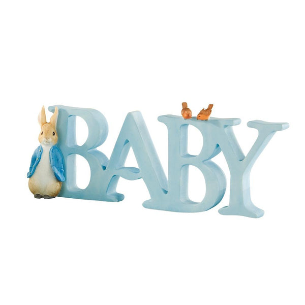 """BABY"" Letters Peter Rabbit"
