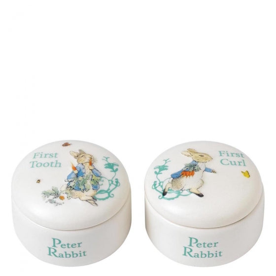 Peter Rabbit First Tooth & First Curl Box