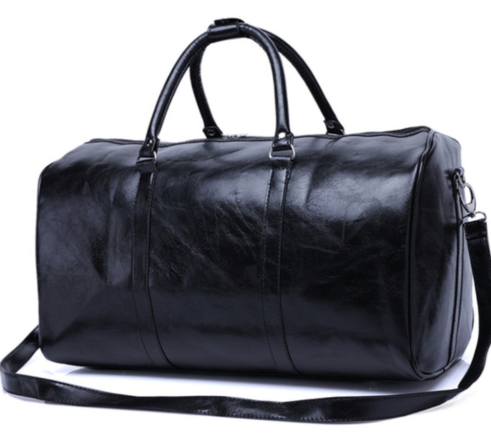 Luxury Leather Weekend Bag