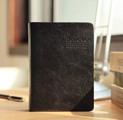 Leather Bible Journal Notebook