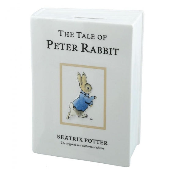 """The Tale of Peter Rabbit"" Money Bank"