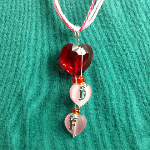 Necklace--You Pull My Heart Strings--Personalized