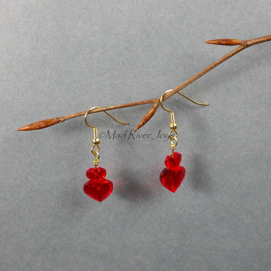 Earrings--Our Hearts Together