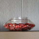 Tea Lights--Non-Floating--Coral Crushed Shell Tea Light Set