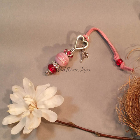 Pocket Memory Key--Pink--Personalized