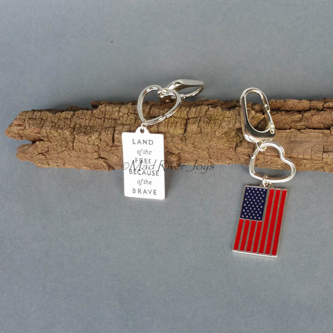 Key Chain--Home of the Brave